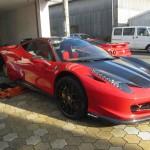 Ferrari 458 イタリアにECUチューニング