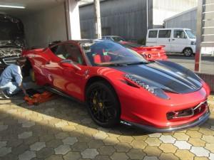 !フェラーリ 458 イタリア ECU チューニング