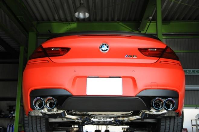 !イノテック BMW F13 M6 可変 バルブ マフラー トリック ミーティング