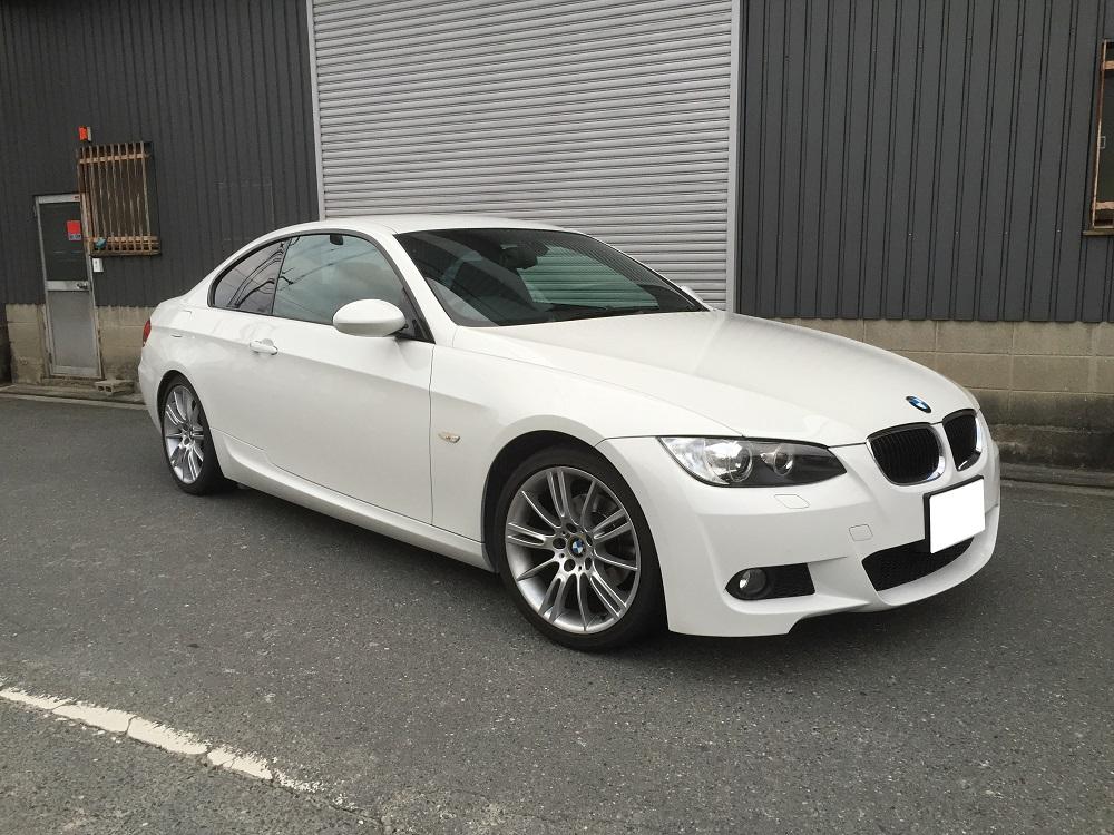 BMW 320i クーペ E90 セダン E92 ECU チューン 書き換え ロムチューン コンピューター DME チューニング 馬力 パワーアップ 直4 サブコン スロコン パワーアップ エアクリ メカチューン ハイオク レギュラー