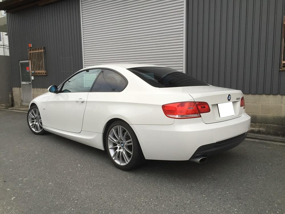 BMW 320i クーペ E90 セダン E92 ECU チューン 書き換え ロム チューン コンピューター DME チューニング 馬力 パワーアップ 直4 サブコン スロコン パワーアップ エアクリ メカチューン ハイオク レギュラー仕様