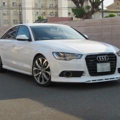 Audi A6 にエアロや車高調 そしてコーディング