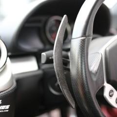 フェラーリ用 カーボン製 ロングパドルシフト