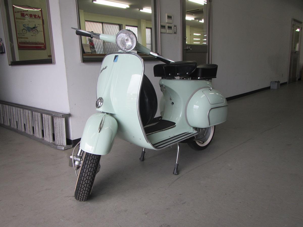 ヴィンテージ ベスパ 輸出 代行 1962年 レストア ほぼ新車